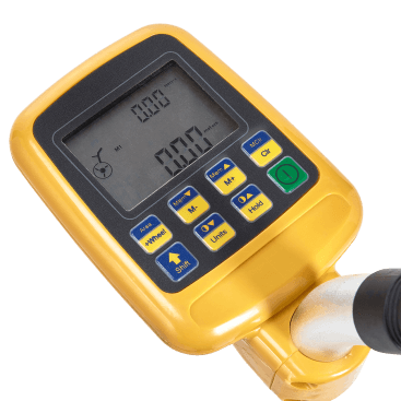 Datum DDRW1 Digital Measure Wheel features advanced technologies to display measurements in various units including cm/m/km/feet/yards.