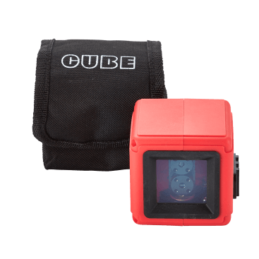 The Datum Cube Laser Level is an accurate and durable pocket laser for setting out horizontal or vertical lines using the highly visible red laser beams.
