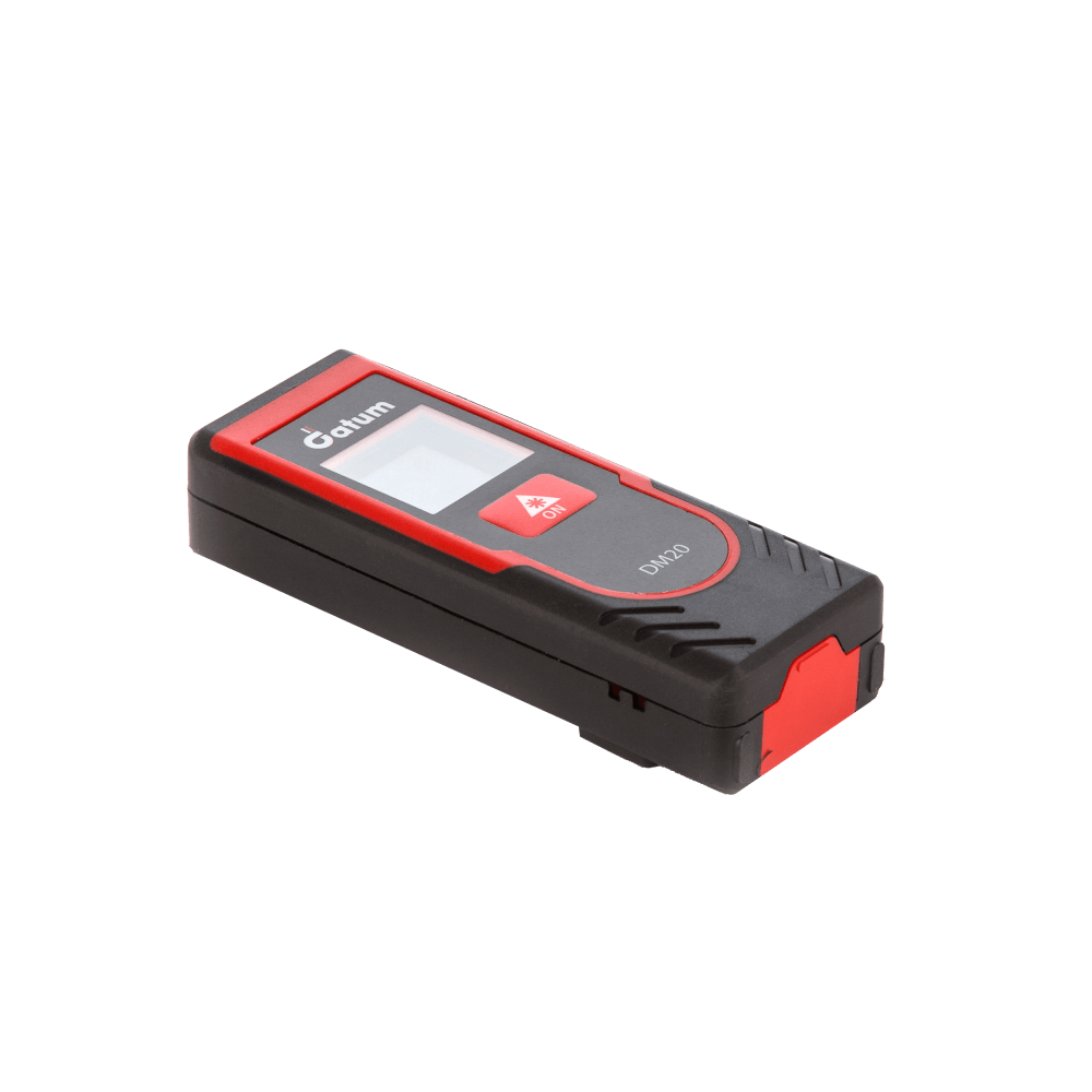 Datum DM20 Laser Distance Meter is the ideal professional distance measurement device, with minimal functions for the simple task of interior linear distance measurement for distances up to 20 metres.