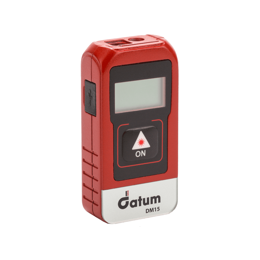The Datum DM15 Laser Distance Meter is one of the smallest and compact laser distance meters on the market.