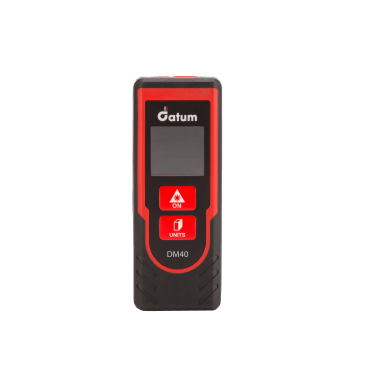 Datum DM40 Distance Meter - the ideal professional distance measurement device for the interior linear distance measurement for distances up to 40 metres.