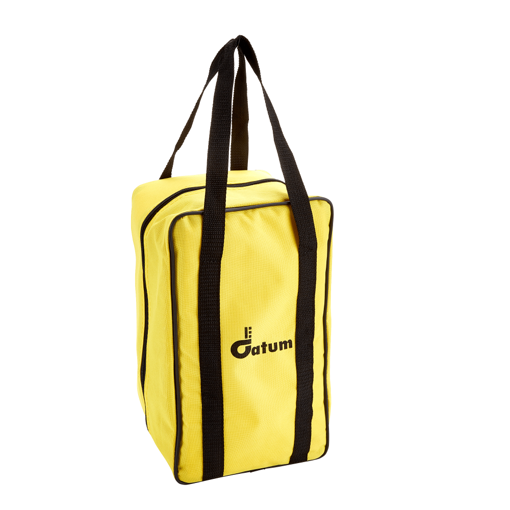 A fully padded nylon washable carrying bag designed to store and keep safe all of your prism station accessories including carrier, tribrach, prism and the prism target.