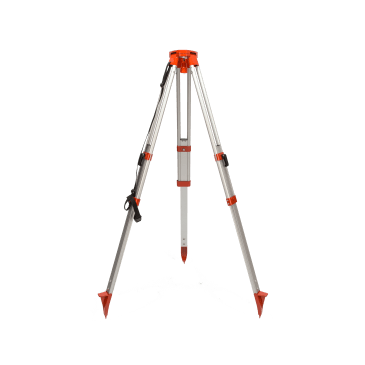 Datum Lightweight Aluminium Tripod is suitable for all small instruments such as Levels and Rotating Lasers and can be adjusted with the clamp locking telescopic legs.
