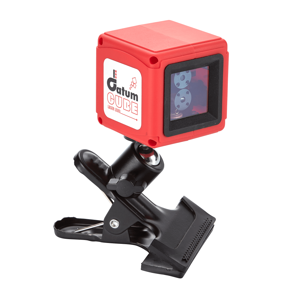 The Datum Cube is an accurate and durable pocket laser for setting out horizontal or vertical lines using the highly visible red laser beams.