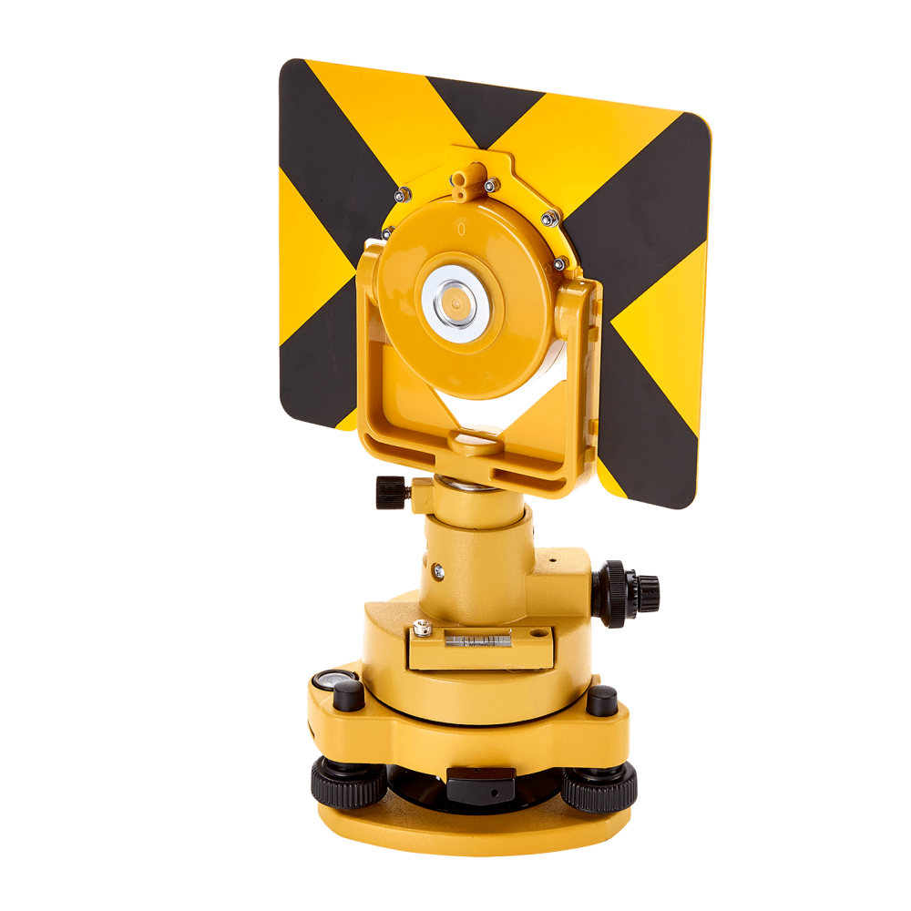 The Datum DTT360 360 Degree Prism assembly is an ideal reflector for use with Topcon Total Station instruments.