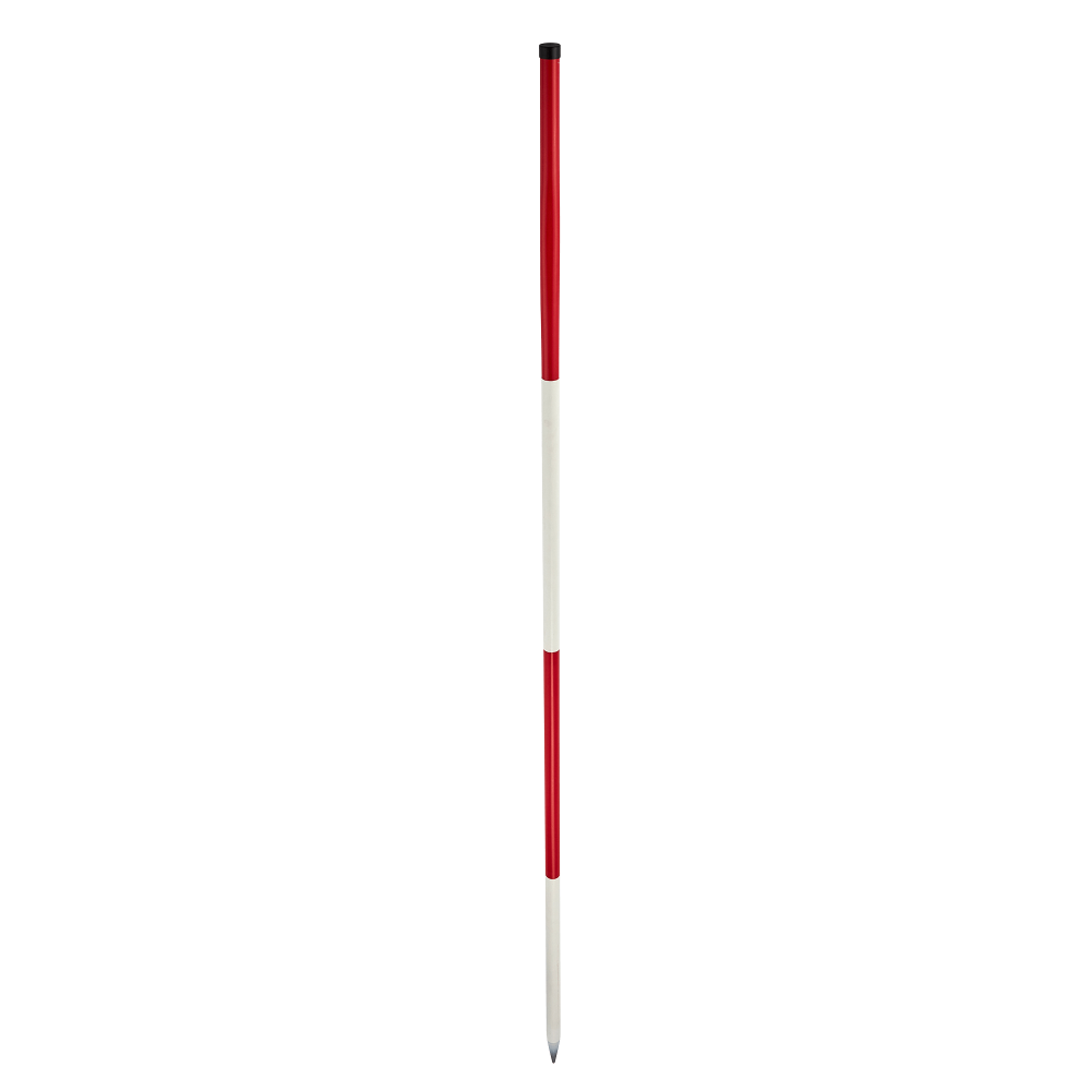 Comprising of metal, red and white graduations and 2m measuring range, this survey ranging pole is ideal for a range of projects and applications.